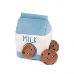 Zippy Burrow - Milk & Cookies   ZippyPaws groothandel   Hondenspeelgoed