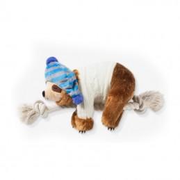 PetShop by Fringe Studio - Beanie sweater sloth on a rope | Wholesale Dog Toys