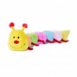 Caterpillar - Large with 6 Squeakers   ZippyPaws Dog Toys Wholesale