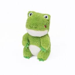 Cheeky Chumz - Frog   ZippyPaws Dog Toys Wholesale