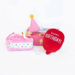 Birthday Box Pink | ZippyPaws venta al por mayor de juguetes para perros