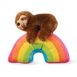 PetShop by Fringe Studio - Sloth on a rainbow | Wholesale Dog Toys